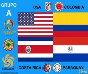 puzzel Groep A, Copa América Centenario