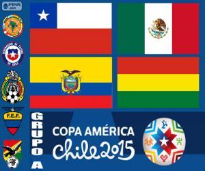 puzzel Groep A, Copa America 2015