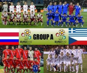 puzzel Groep A - Euro 2012 -