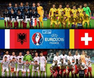 puzzel Groep A, Euro 2016