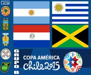 puzzel Groep B, Copa America 2015