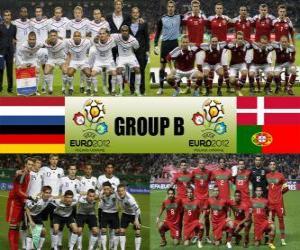 puzzel Groep B - Euro 2012-