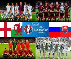 puzzel Groep B, Euro 2016