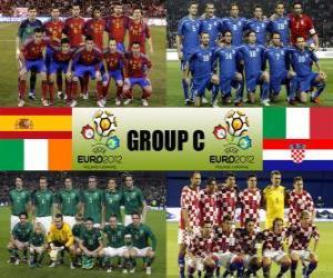 puzzel Groep C - Euro 2012-