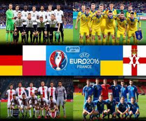 puzzel Groep C, Euro 2016