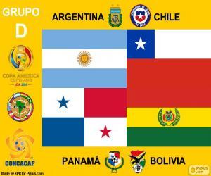 puzzel Groep D, Copa América Centenario