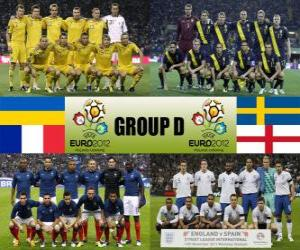 puzzel Groep D - Euro 2012-