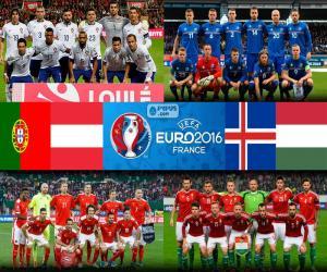 puzzel Groep F, Euro 2016