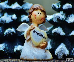 puzzel Guardian Angel, Kerstmis