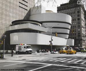 puzzel Guggenheim Museum in New York