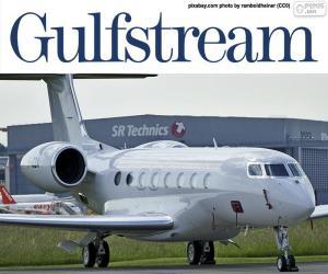 puzzel Gulfstream G650