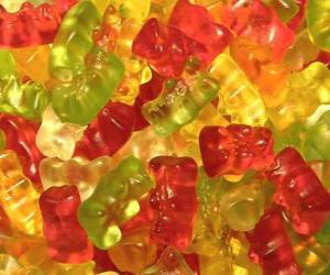 puzzel Gummy beren