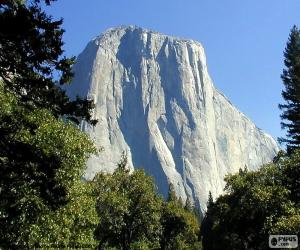 puzzel Half Dome, Yosemite, Verenigde Staten