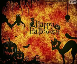 puzzel Halloween dag