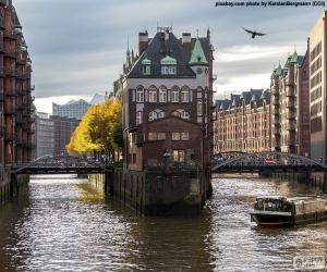 puzzel Hamburg, Duitsland