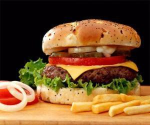 puzzel Hamburger