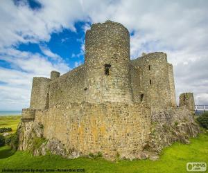puzzel Harlech Castle, Wales