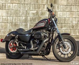 puzzel Harley-Davidson 883R 2008