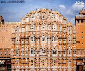 puzzel Hawa Mahal, India