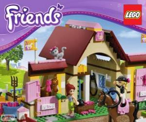 puzzel Heartlake stallen Lego Friends