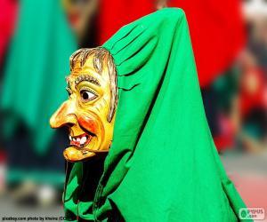 puzzel Heks masker