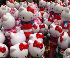 puzzel Hello Kitty cijfers