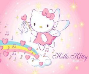 puzzel Hello Kitty fairy