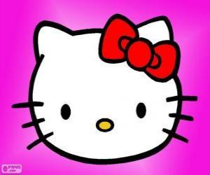 puzzel Hello Kitty gelukkig