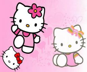 puzzel Hello Kitty