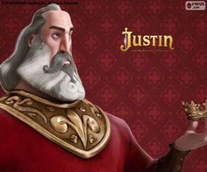 puzzel Heraclio, de ridder van de schurk die plannen om te grijpen de troon