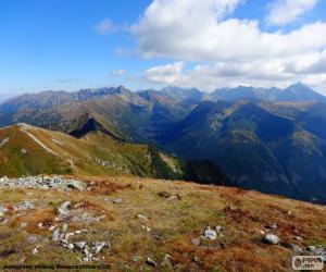 puzzel Herfst in hooggebergte