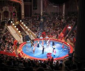 puzzel Het circus