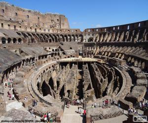 puzzel Het Colosseum in Rome
