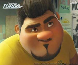 puzzel Het gezicht van Angelo Dos Bros