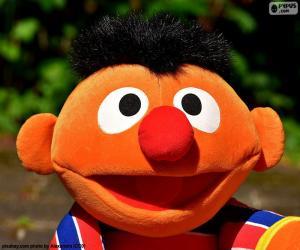 puzzel Het gezicht van Ernie