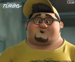 puzzel Het gezicht van Tito Dos Bros