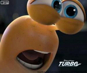 puzzel Het gezicht van Turbo