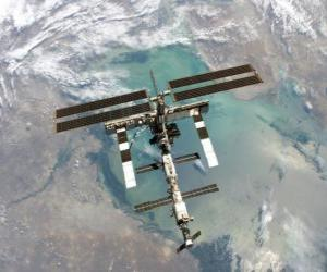 puzzel Het International Space Station (ISS)