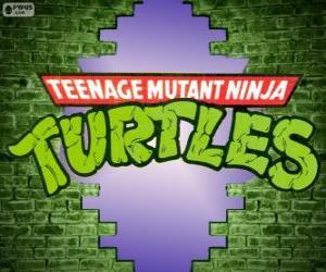 puzzel Het logo van Ninja Turtles