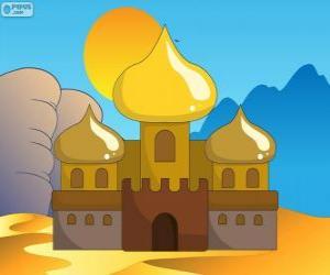 puzzel Het Paleis van Aladdin en de prinses