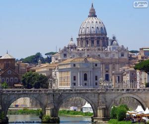 puzzel Het Vaticaan, Rome, Italië