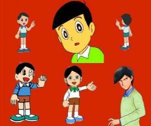puzzel Hidetoshi Dekisugi, Nobita klasgenoot