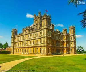 puzzel Highclere Castle, Engeland