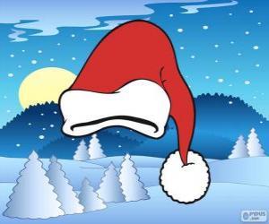 puzzel Hoed van Santa Claus