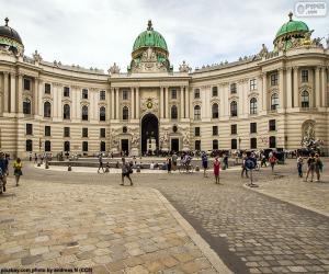 puzzel Hofburg, Oostenrijk