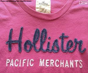 puzzel Hollister T-Shirt