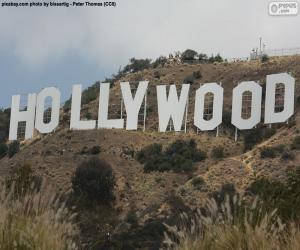 puzzel Hollywood Sign