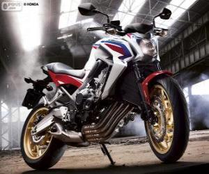 puzzel Honda CB650F 2014