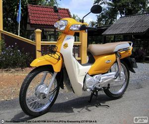puzzel Honda Super Cub