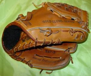 puzzel Honkbal handschoen